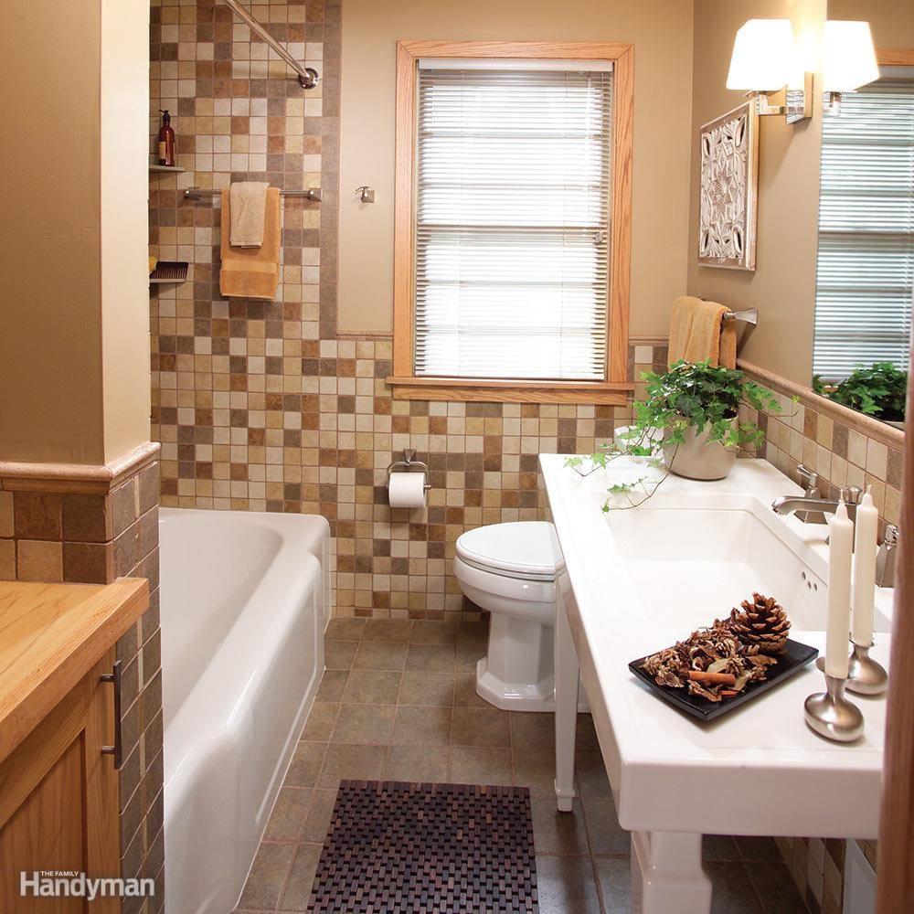 A Small Bathroom That Feels Big