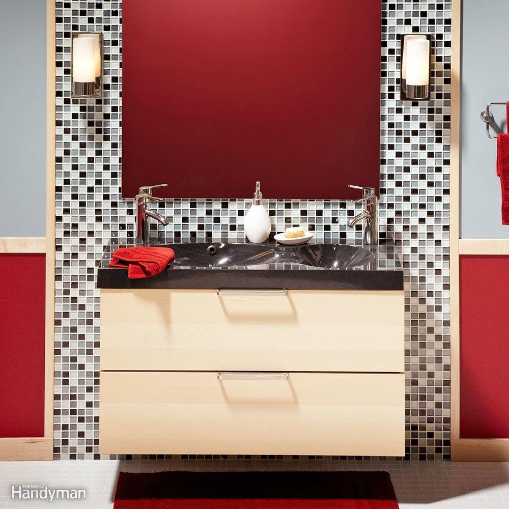 One Weekend Bathroom Remodel