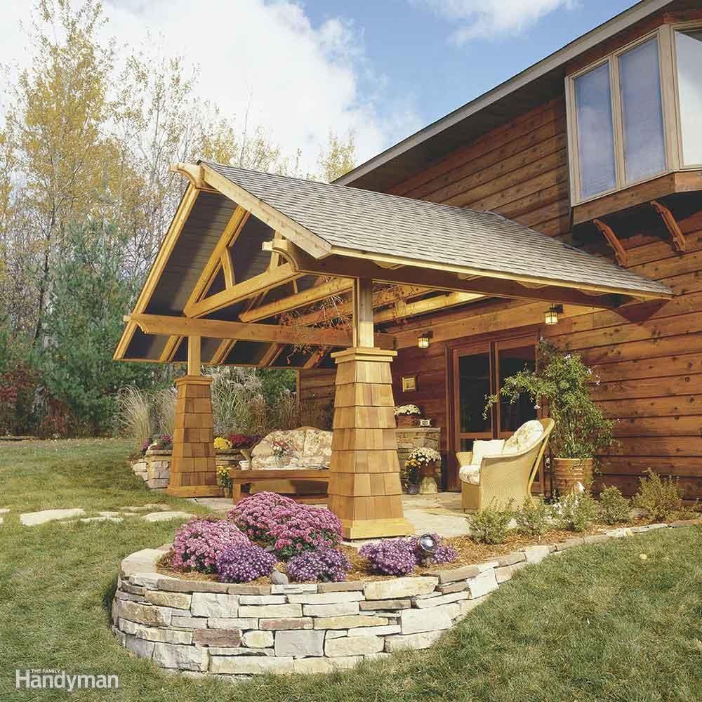 Build an Outdoor Living Room