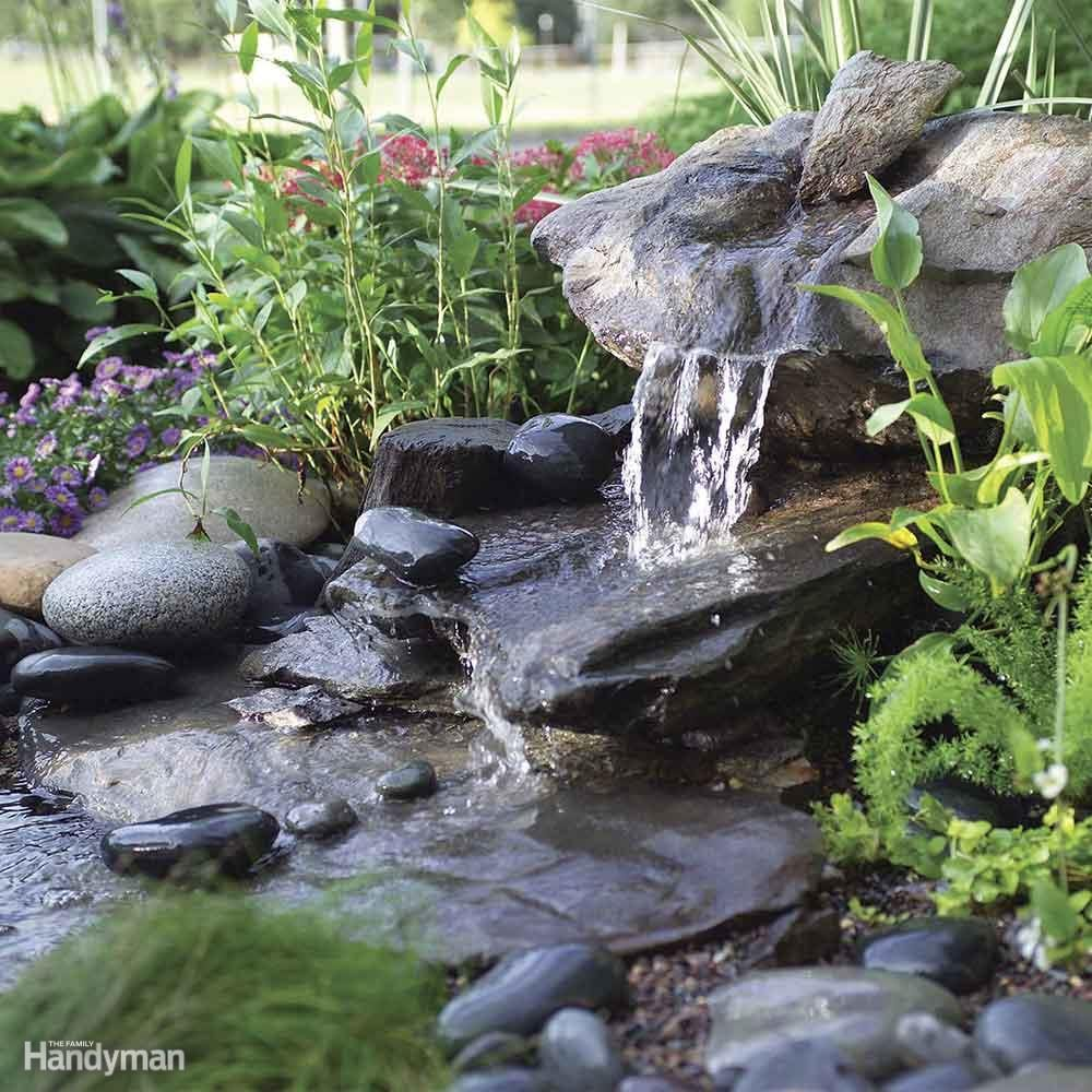 DIY a Low Maintenance Water Feature