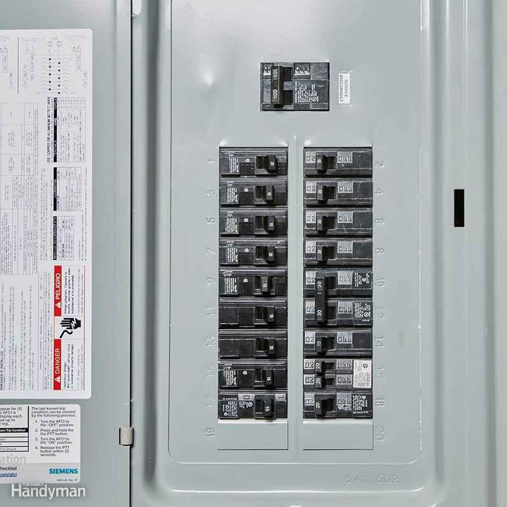 Locate the Electrical Panel