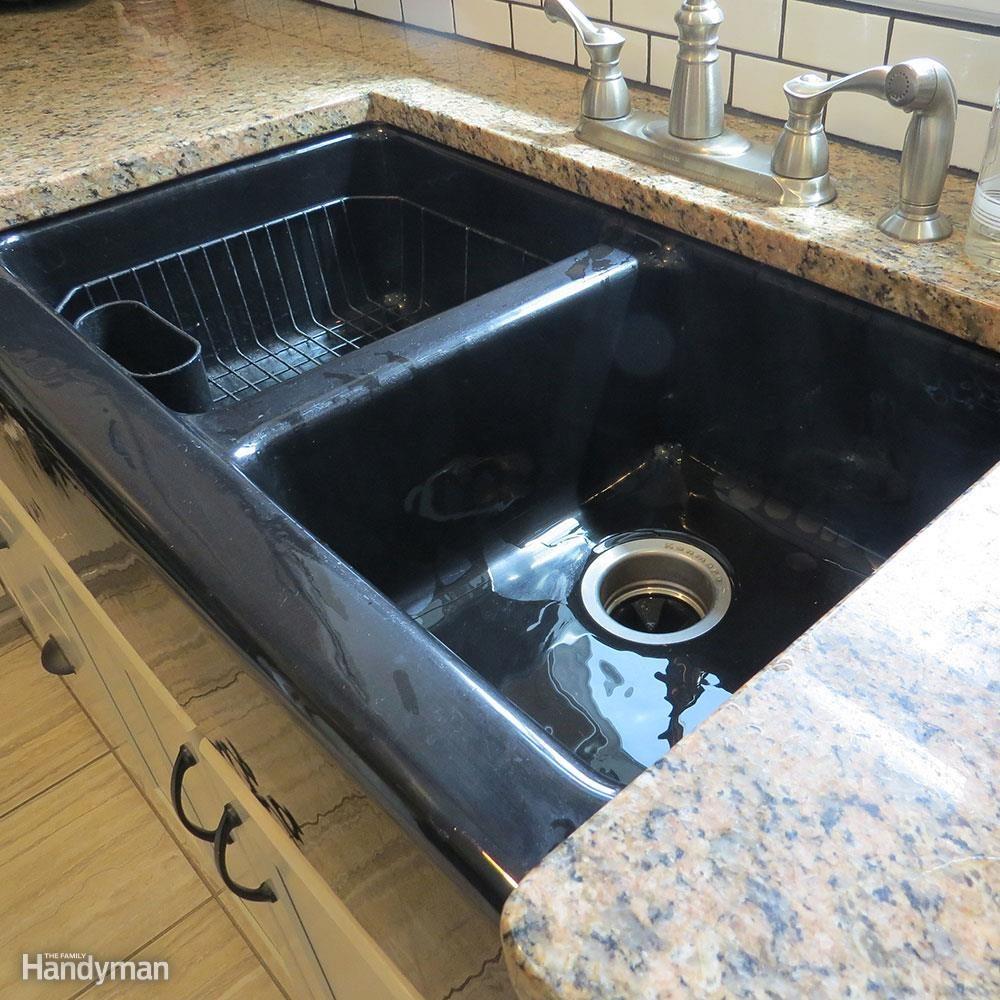 White Subway Tile Backsplash Don't: Dump Down the Kitchen Sink