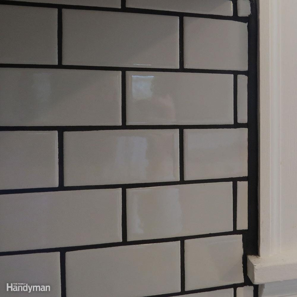 White Subway Tile Backsplash Don't: Assume You'll Just Fill with Grout