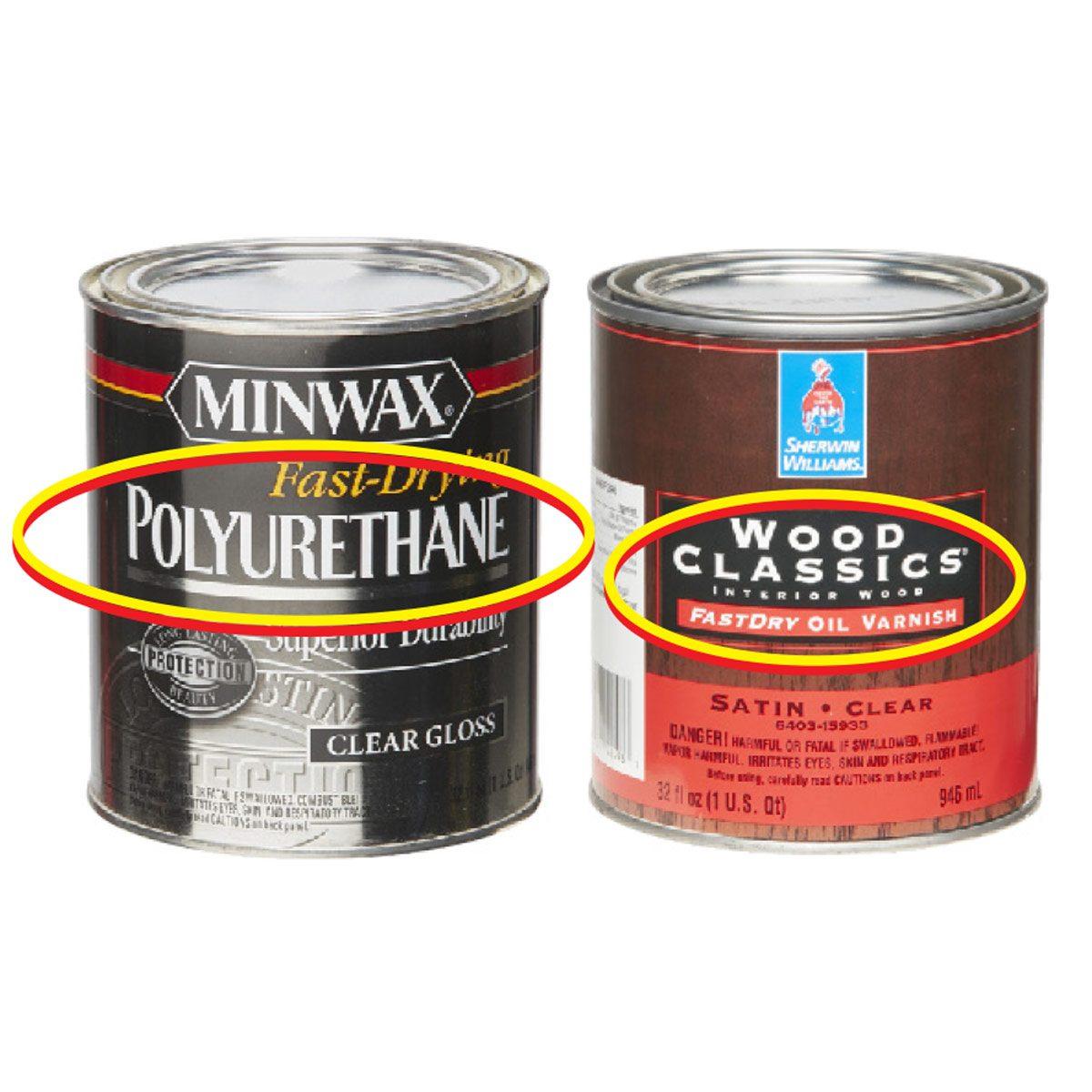 Polyurethane vs. Varnish