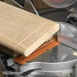 How to Cut a Wide Board With a Miter Saw