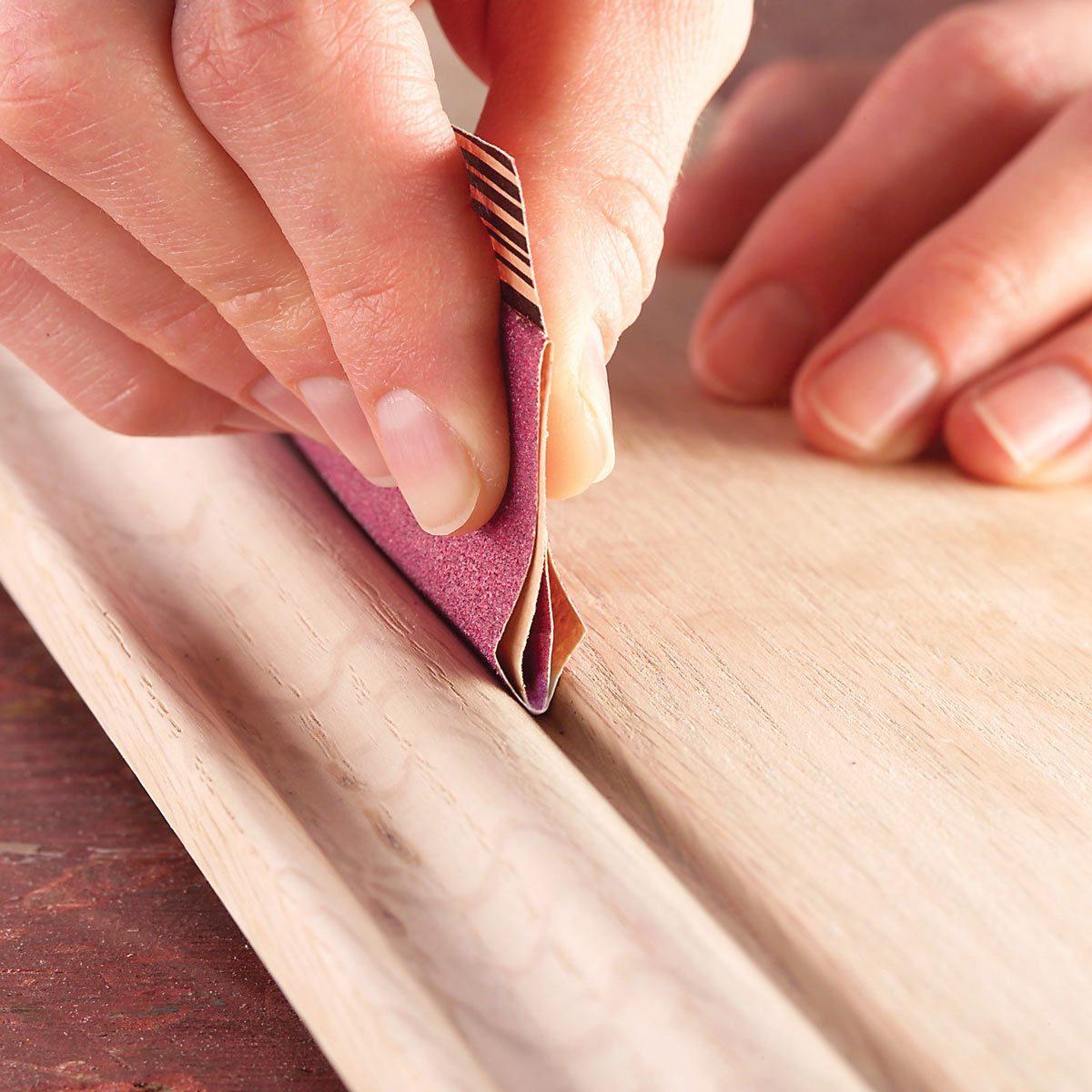 Trim Material Options: Bare Wood