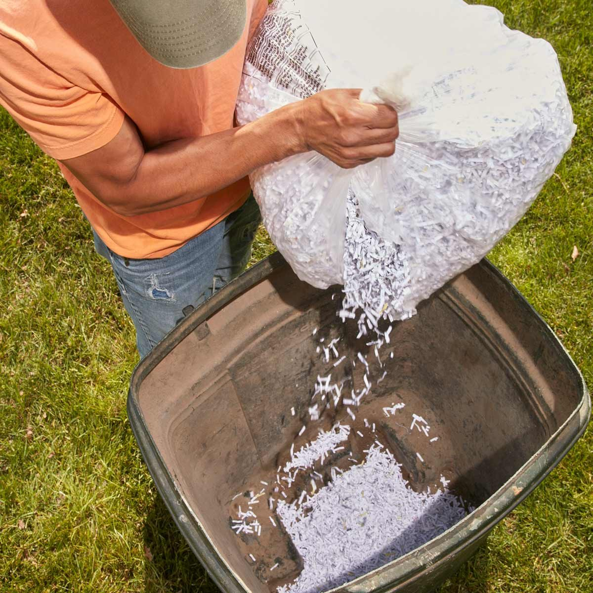 No More Smelly Lawn Clippings