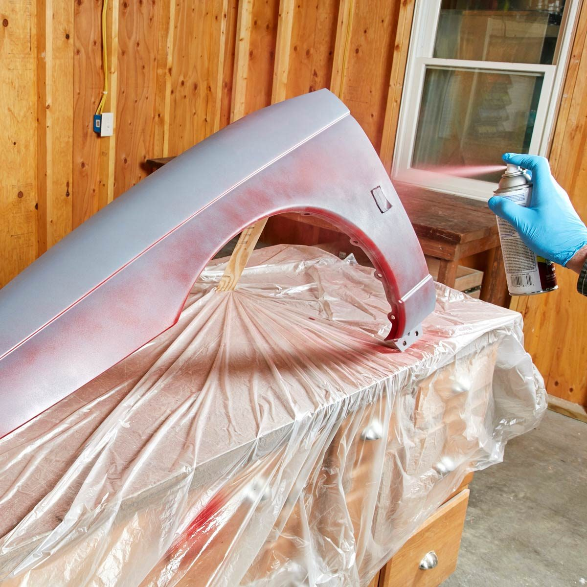 Spray Can Tips: Start With a Tack Coat
