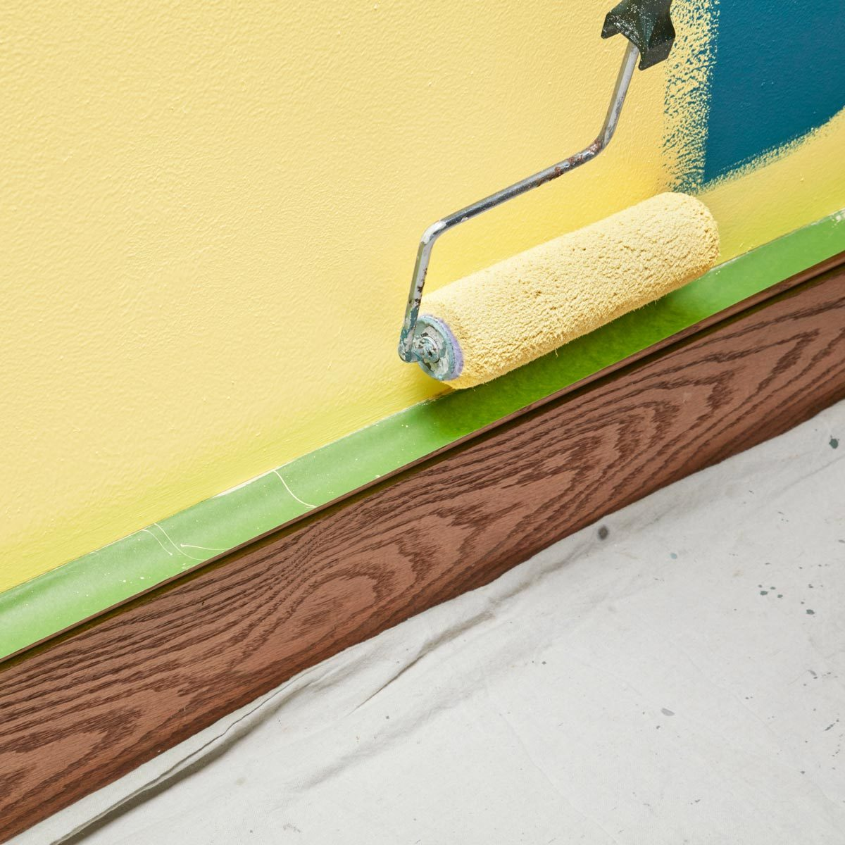 6. Shelter Baseboards from Splatter