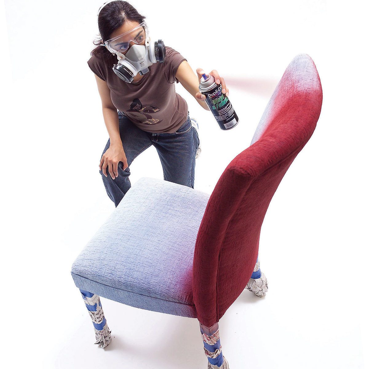 Paint upholstery