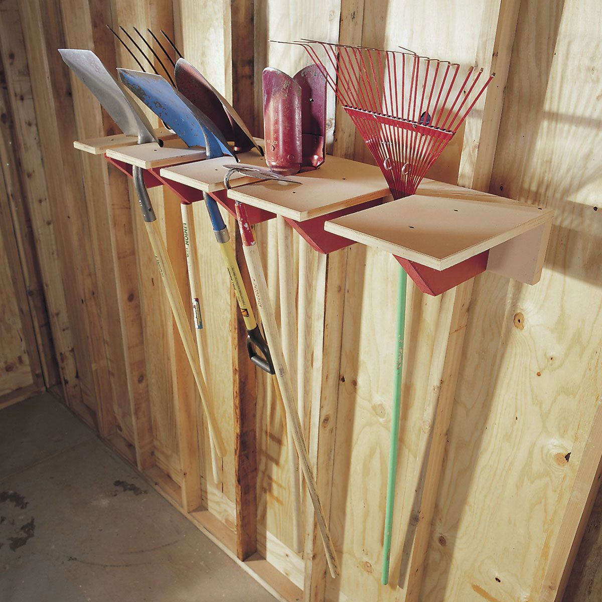 Clean and Store Garden Tools