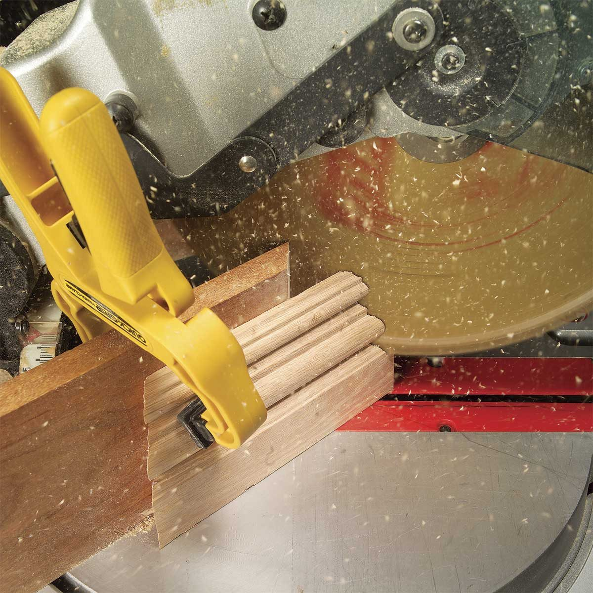 Use Clamps on Small Pieces
