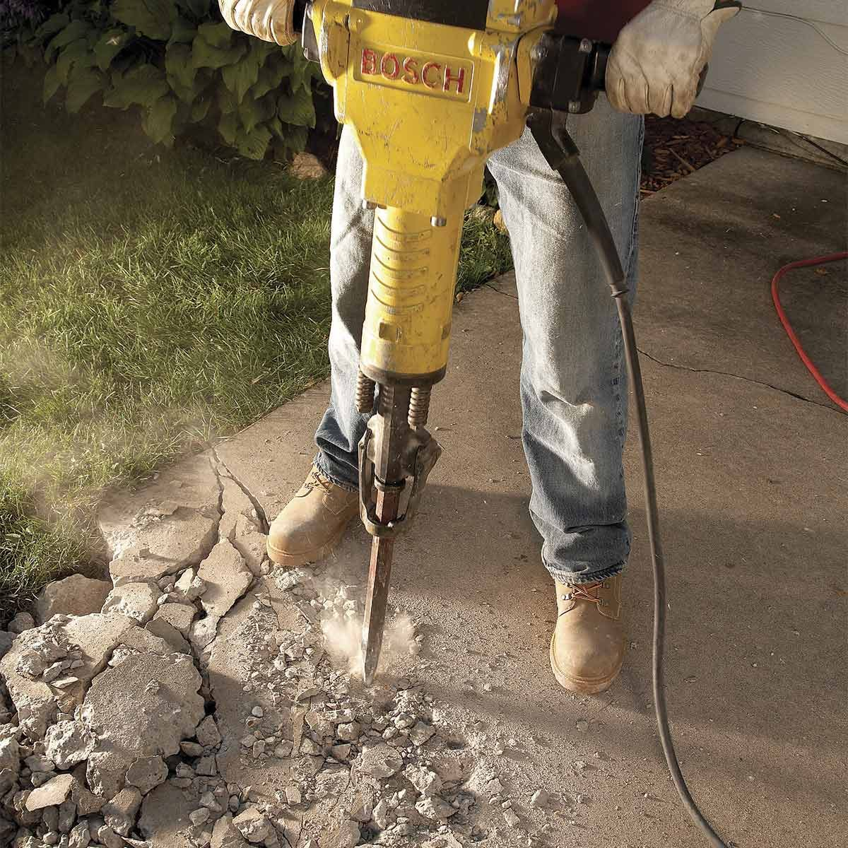 Jackhammer Technique