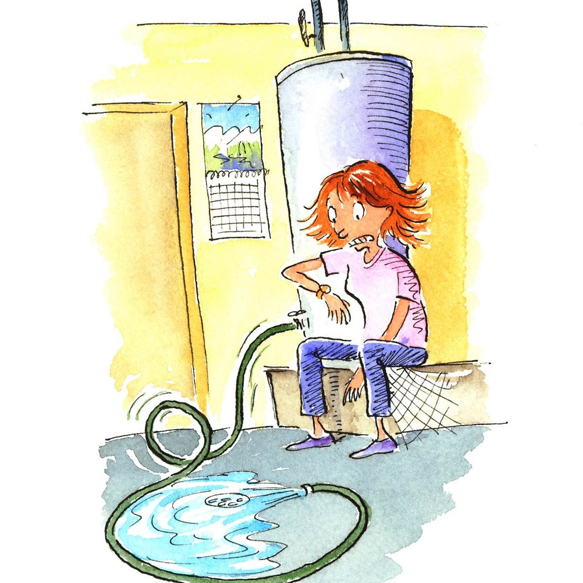 The Ever-Flowing Water Heater