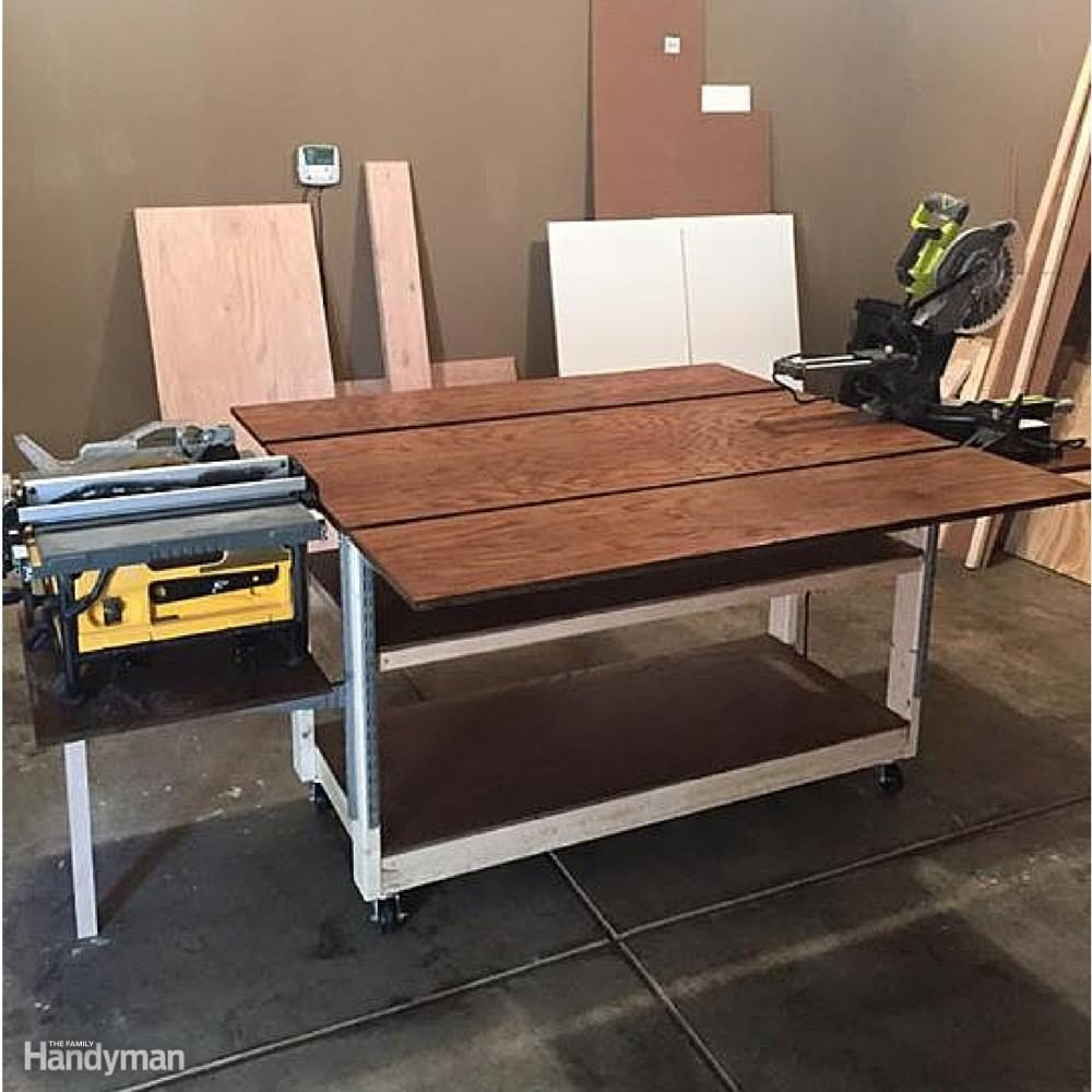 A Table for Your Table Saw