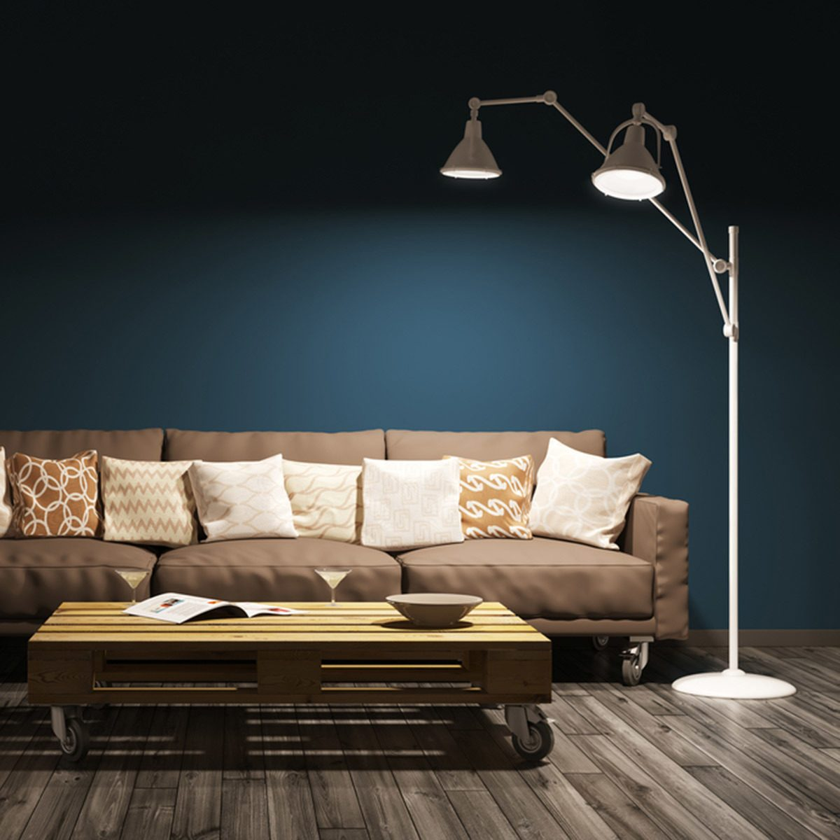 Choose a Long-Reach Floor Lamp
