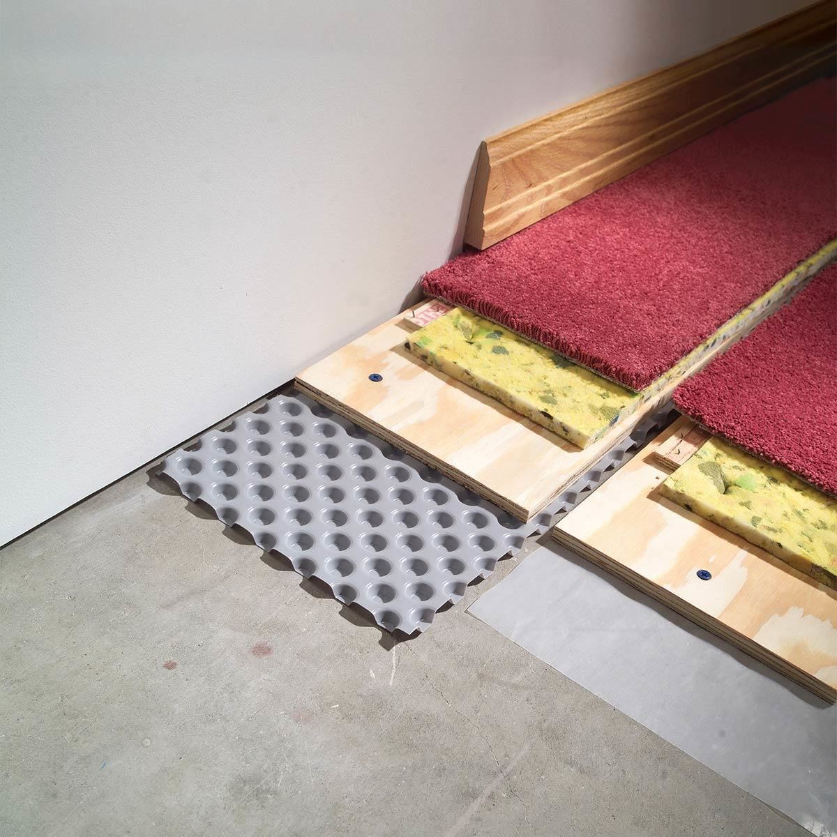 Inspect and Upgrade Flooring