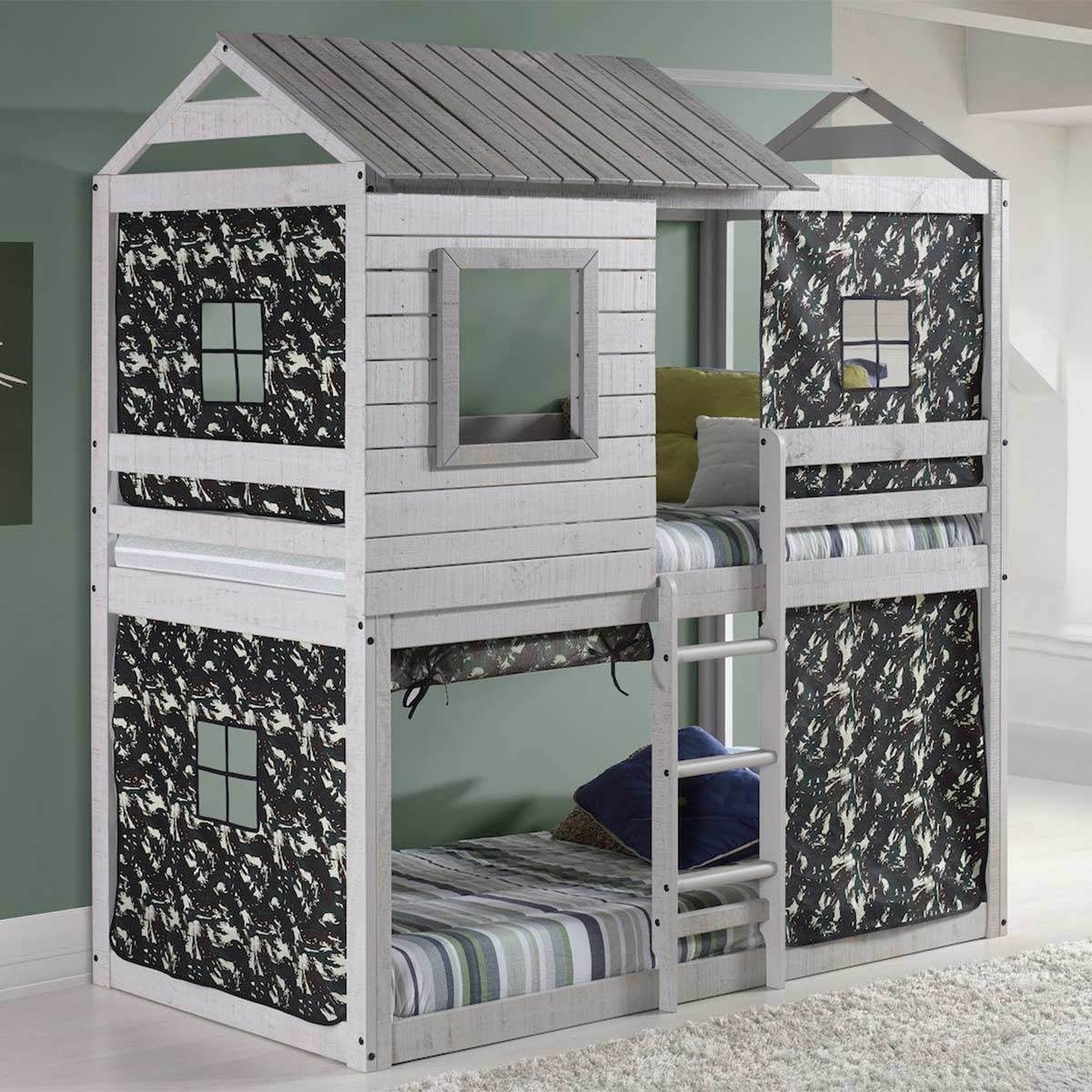 Custom Mini-House Double Bunk
