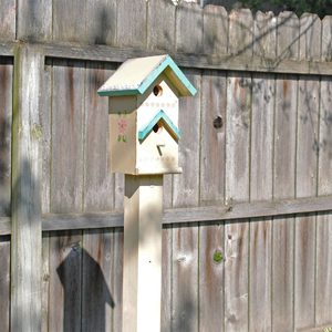 How To Install a Birdhouse Post