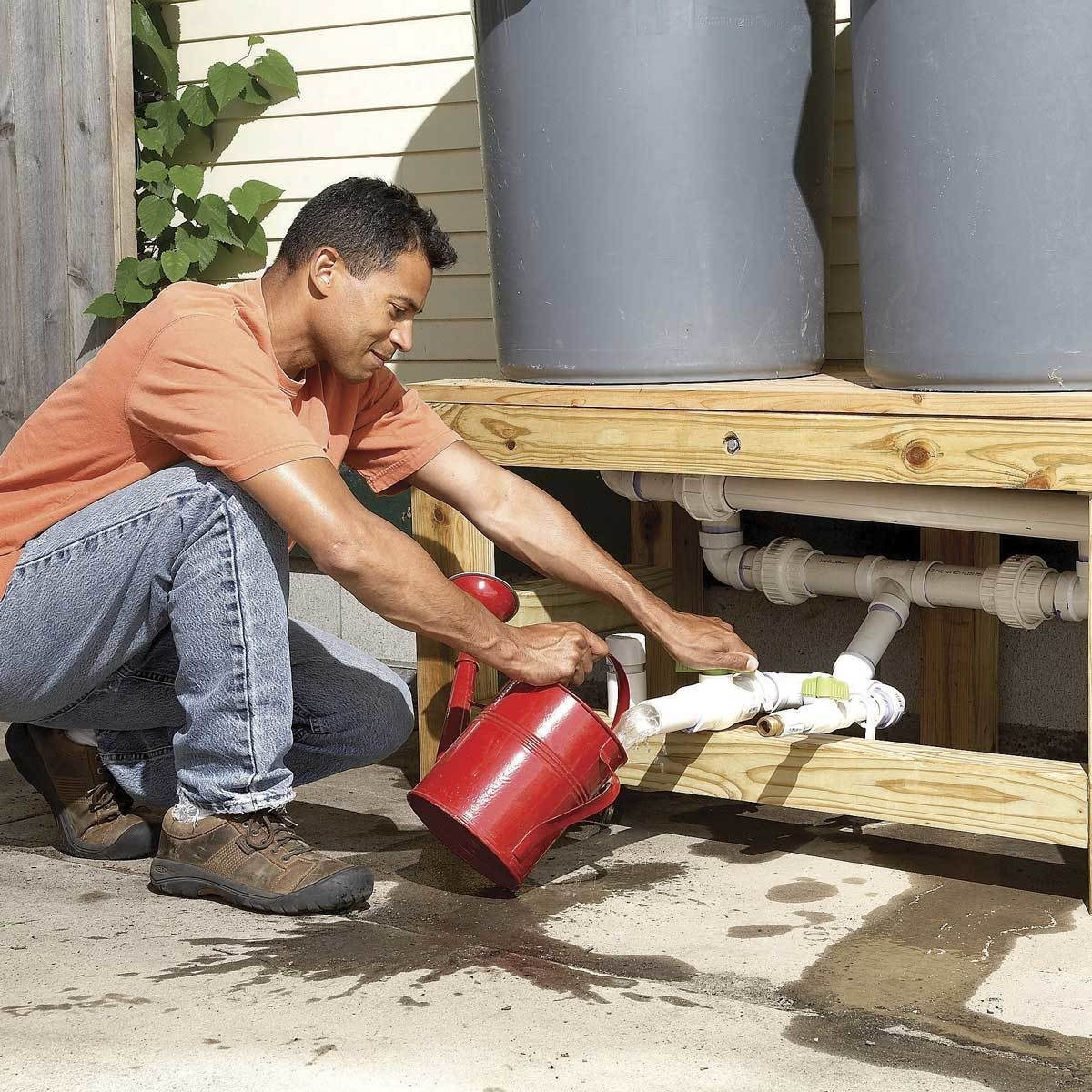 Use Rain Barrels and Other Water Catchers