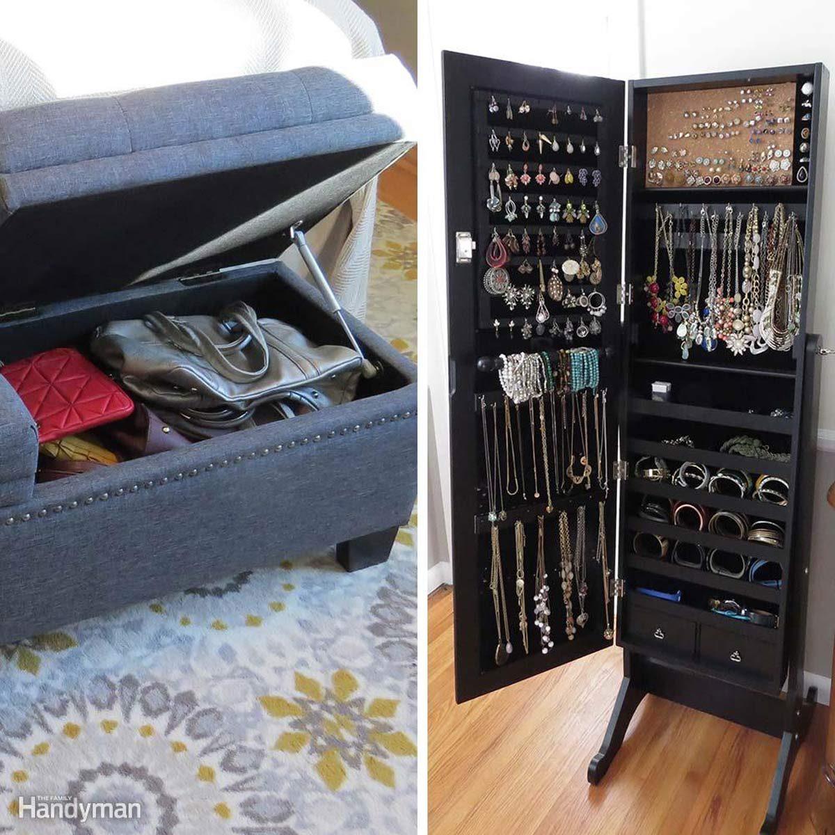 Closet Storage Ideas: Double-Duty Furniture and Storage