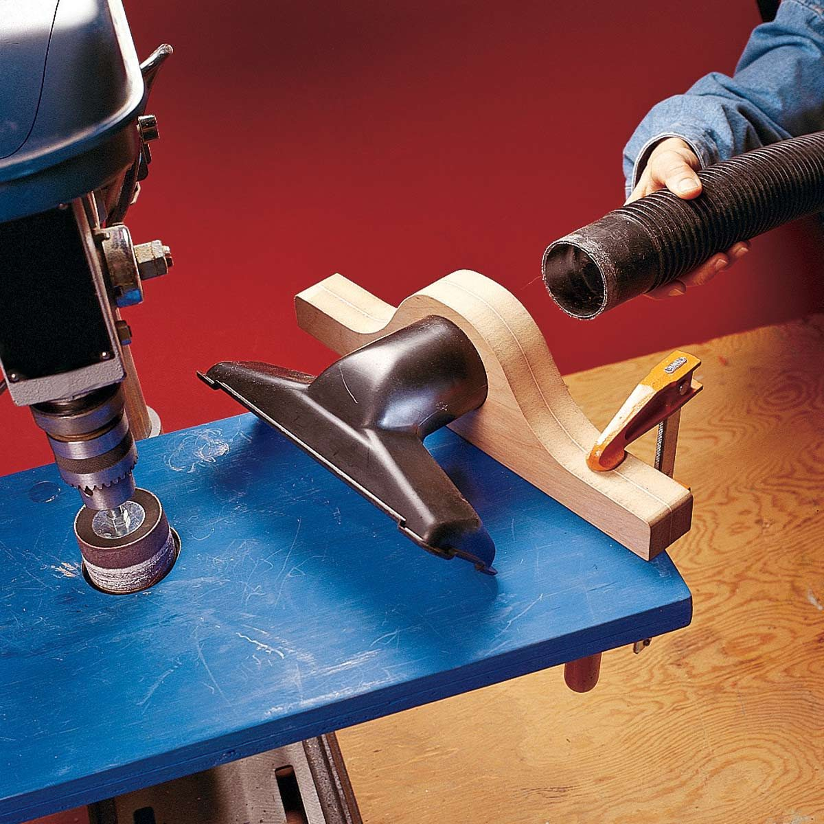 Dustless Drilling and Drum Sanding