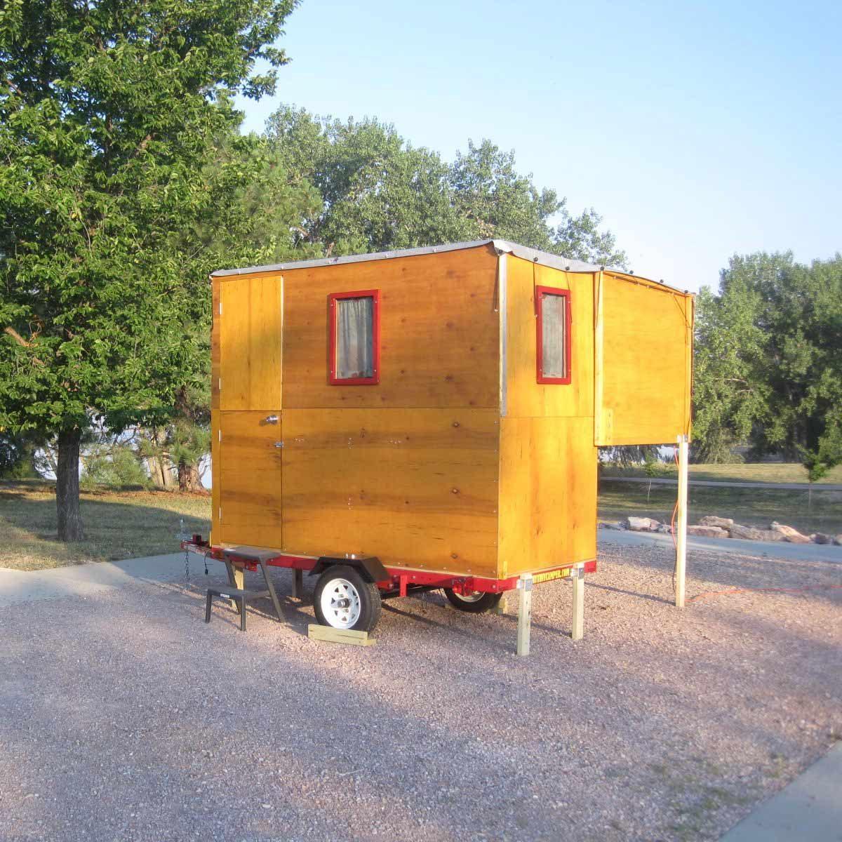 DIY Tiny Camper