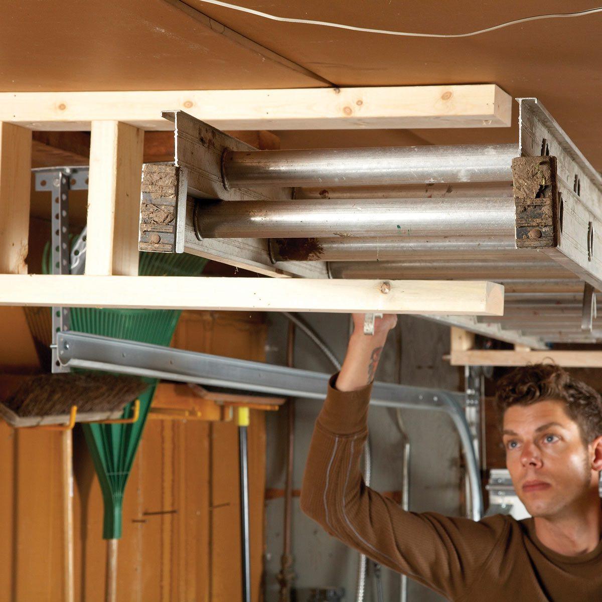 Overhead Ladder Rack
