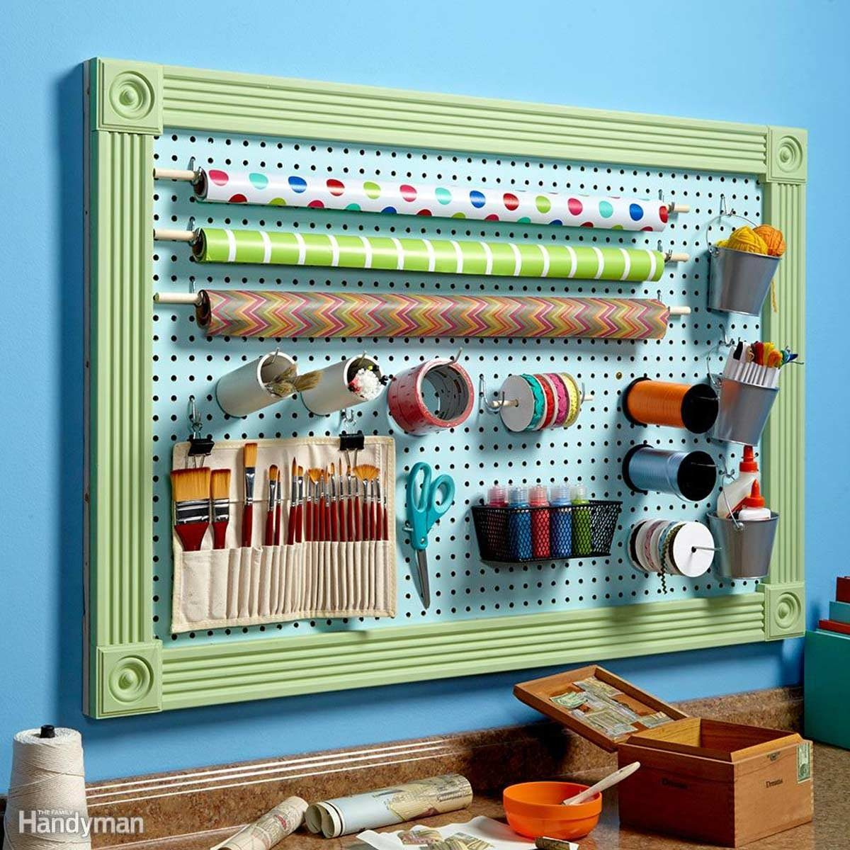 Add a Pegboard Wall