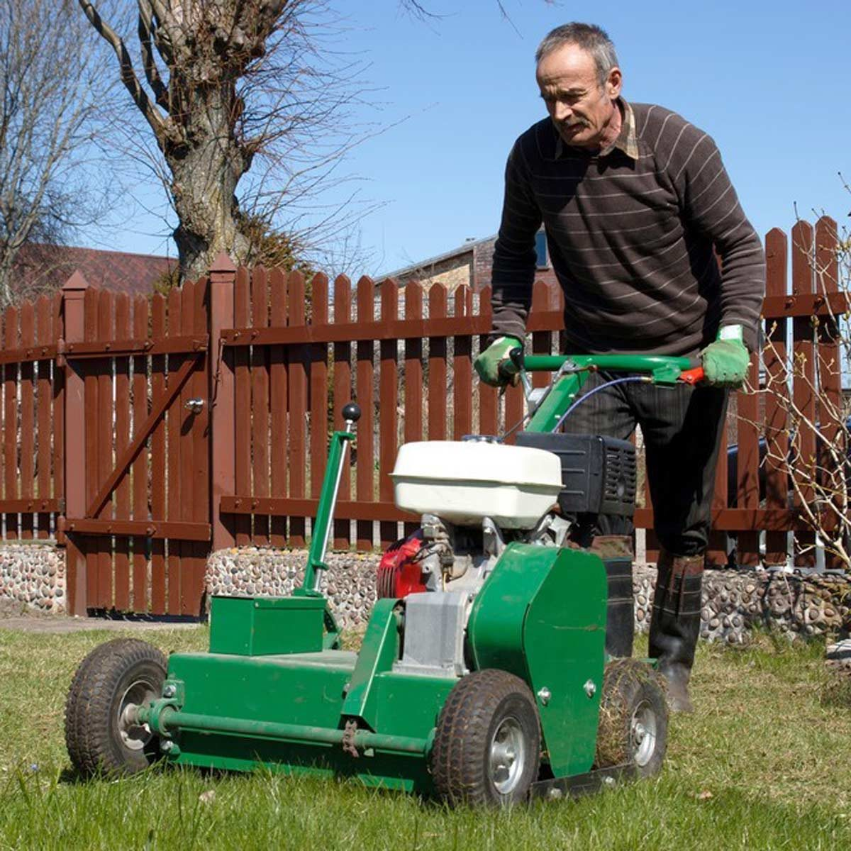 Aerate Your Yard