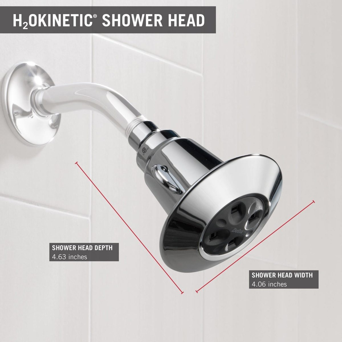 Delta 75152 Single Function Showerhead