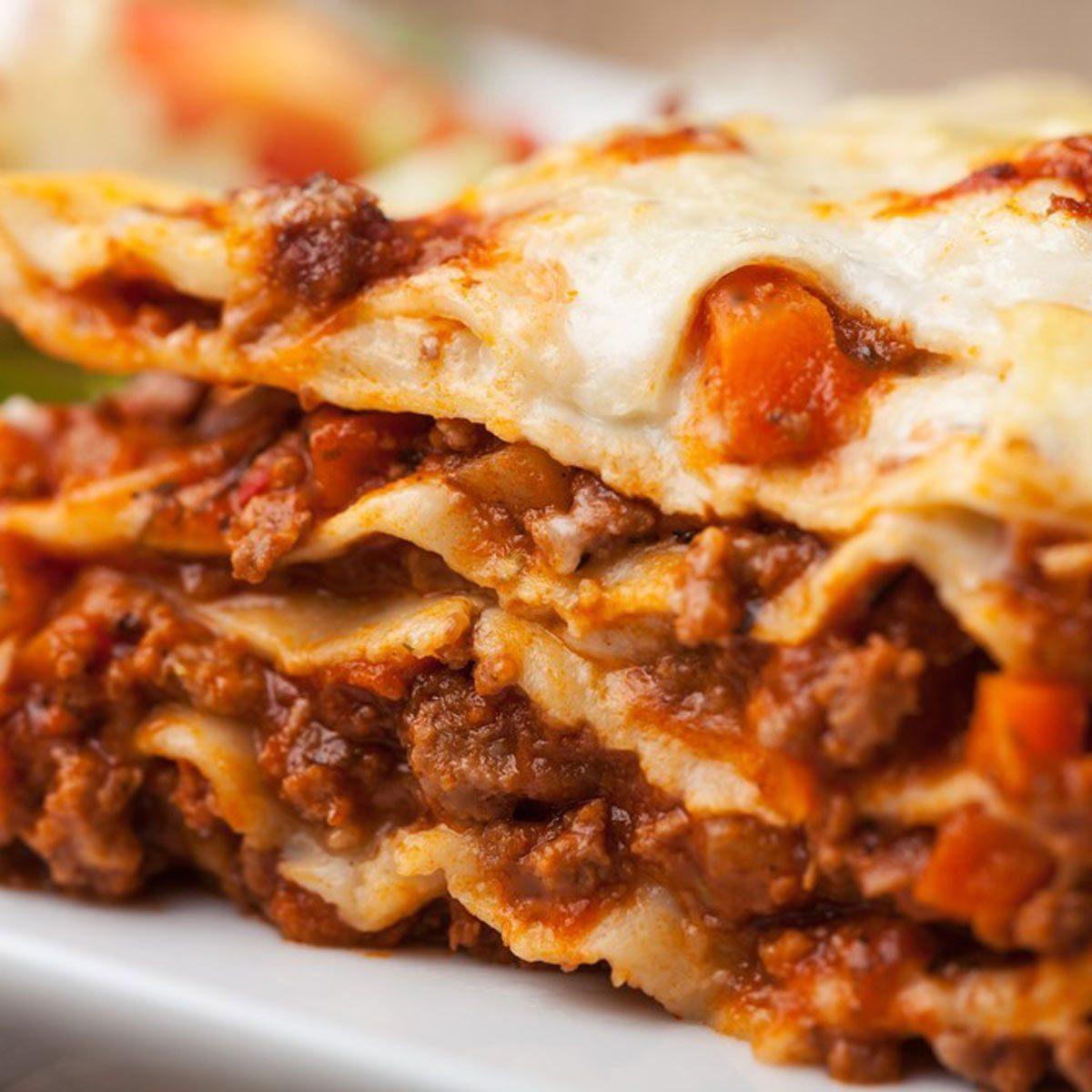 Grill a Lasagna