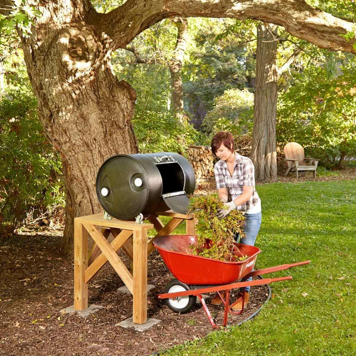 Turn Compost Heap