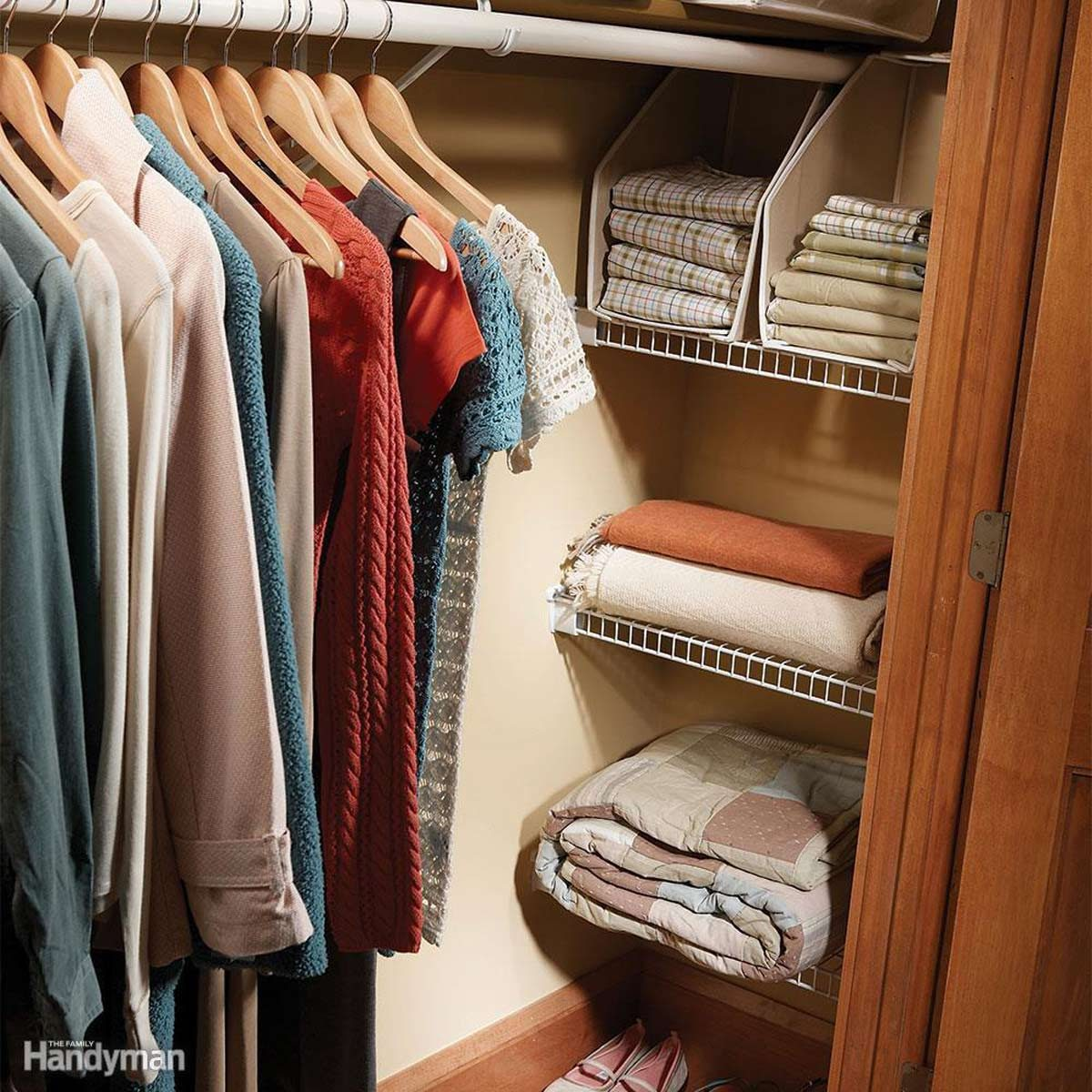 Switch to Warmer Bedding and Clothes