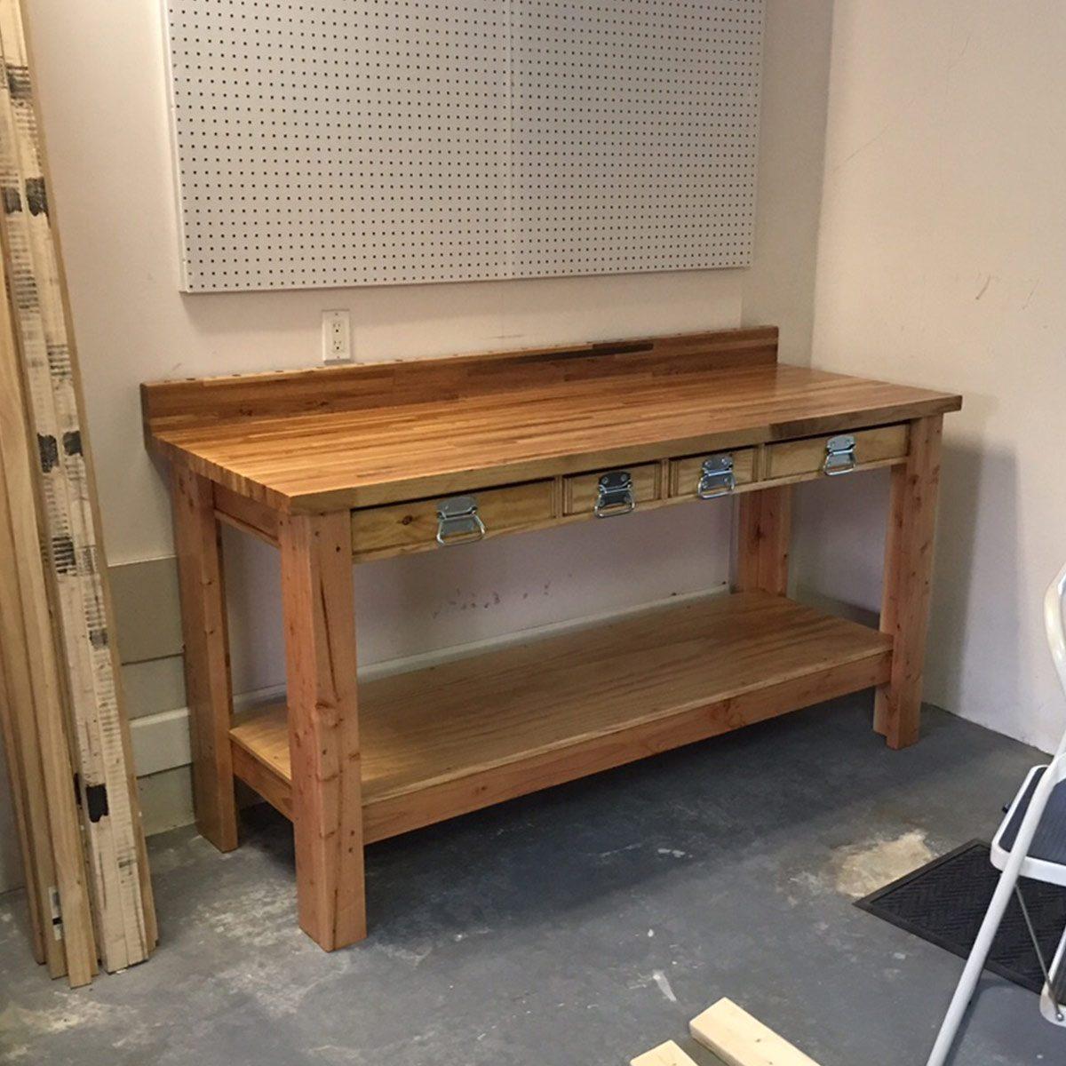 New Twist on a Classic Workbench
