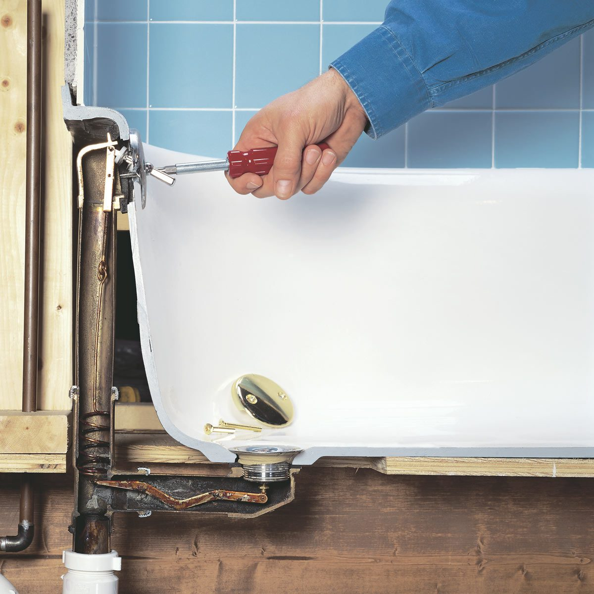 Drain and Pipe Placement