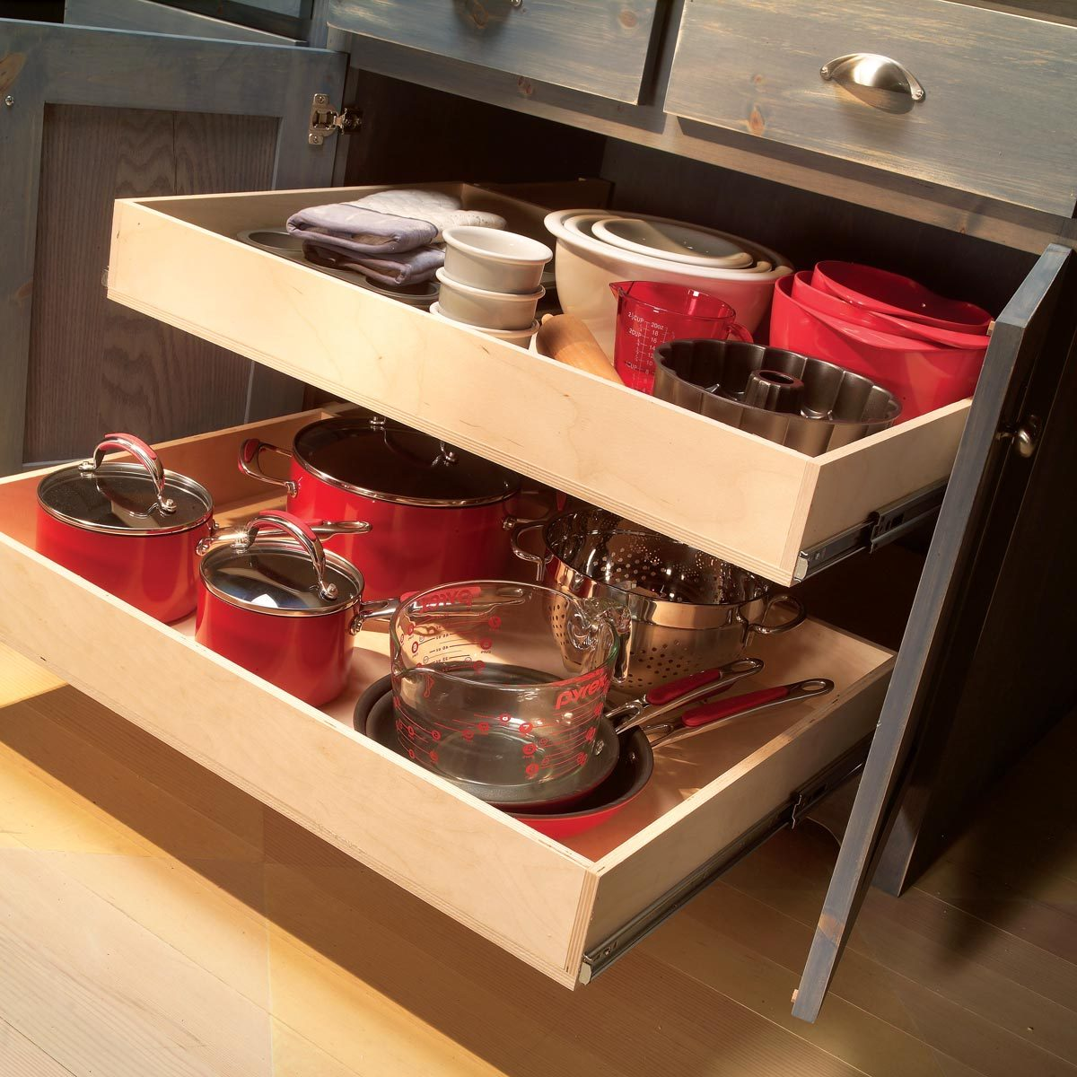 Build Cabinet Rollouts