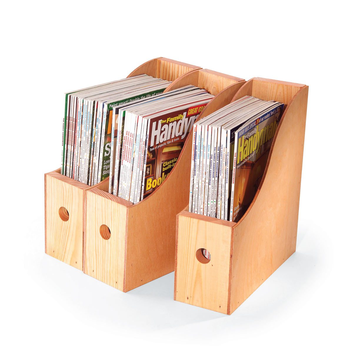 Periodicals but not The Family Handyman