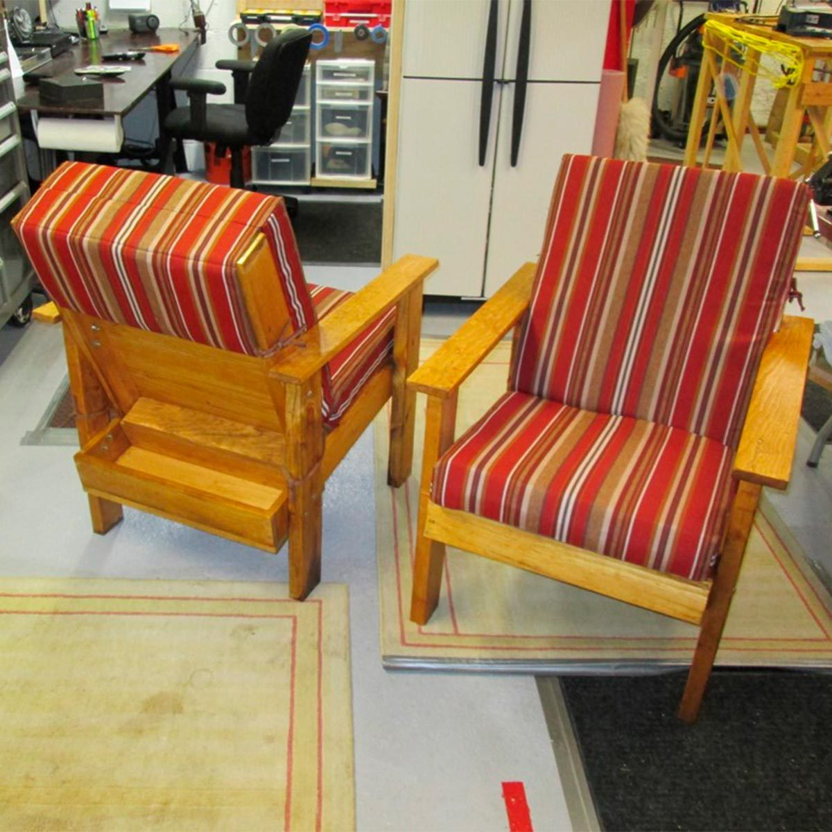 Patio Chairs with Storage
