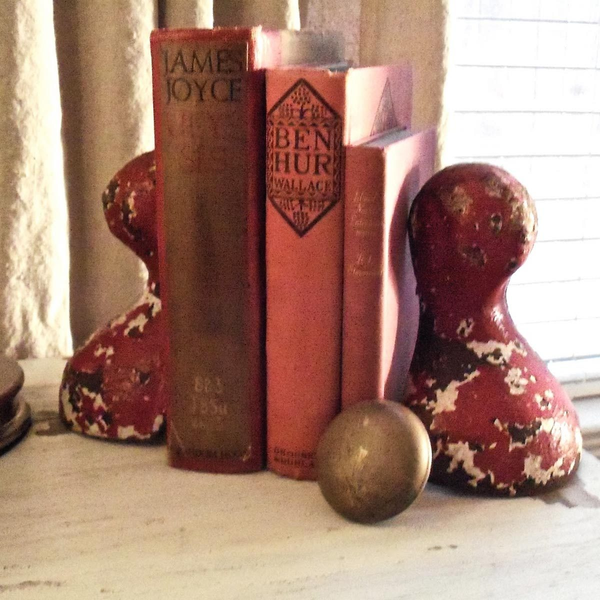 Salvaged Bookends