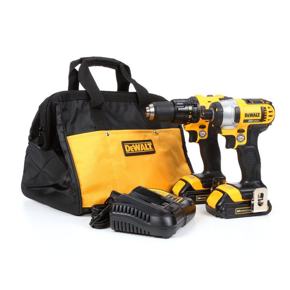 DeWalt Drill and Impact Driver Combo Kit