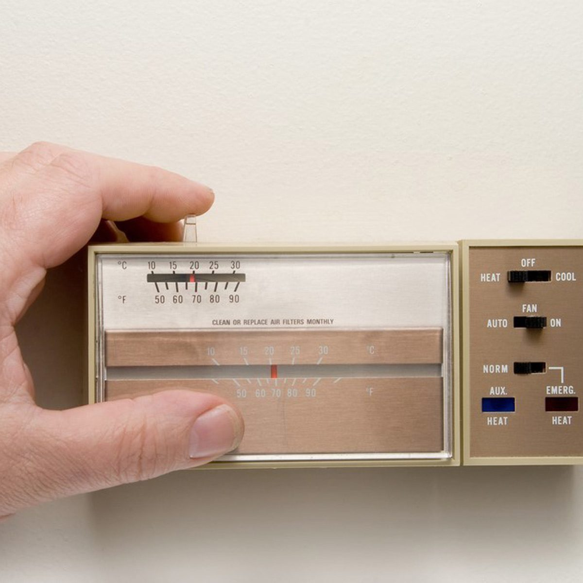 Dated: Analog Thermostat Control