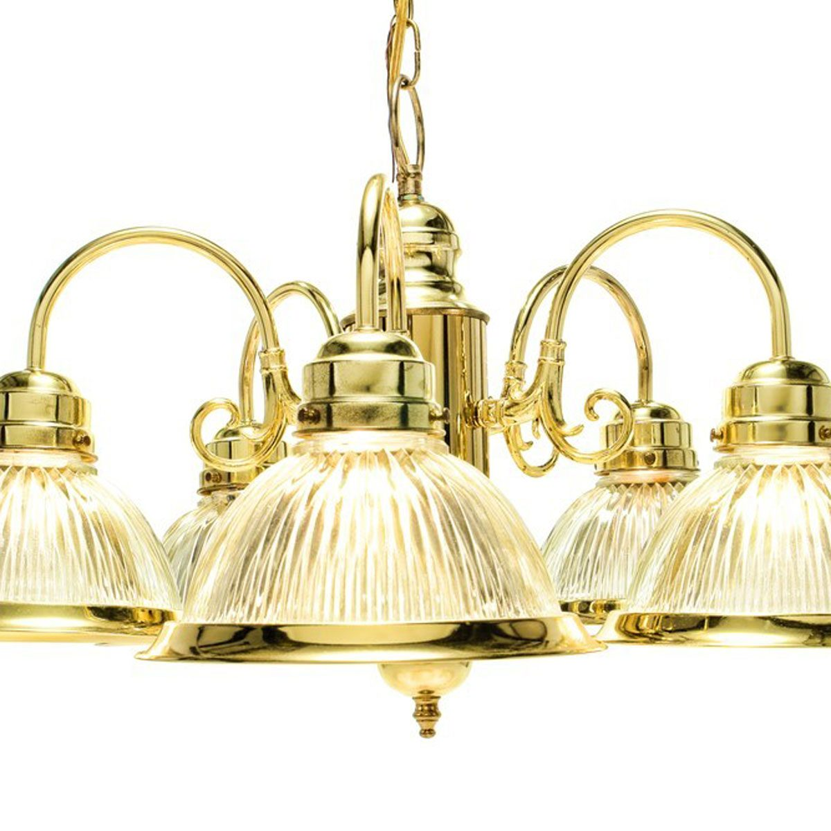 Dated: Brass or Gold Light Fixtures