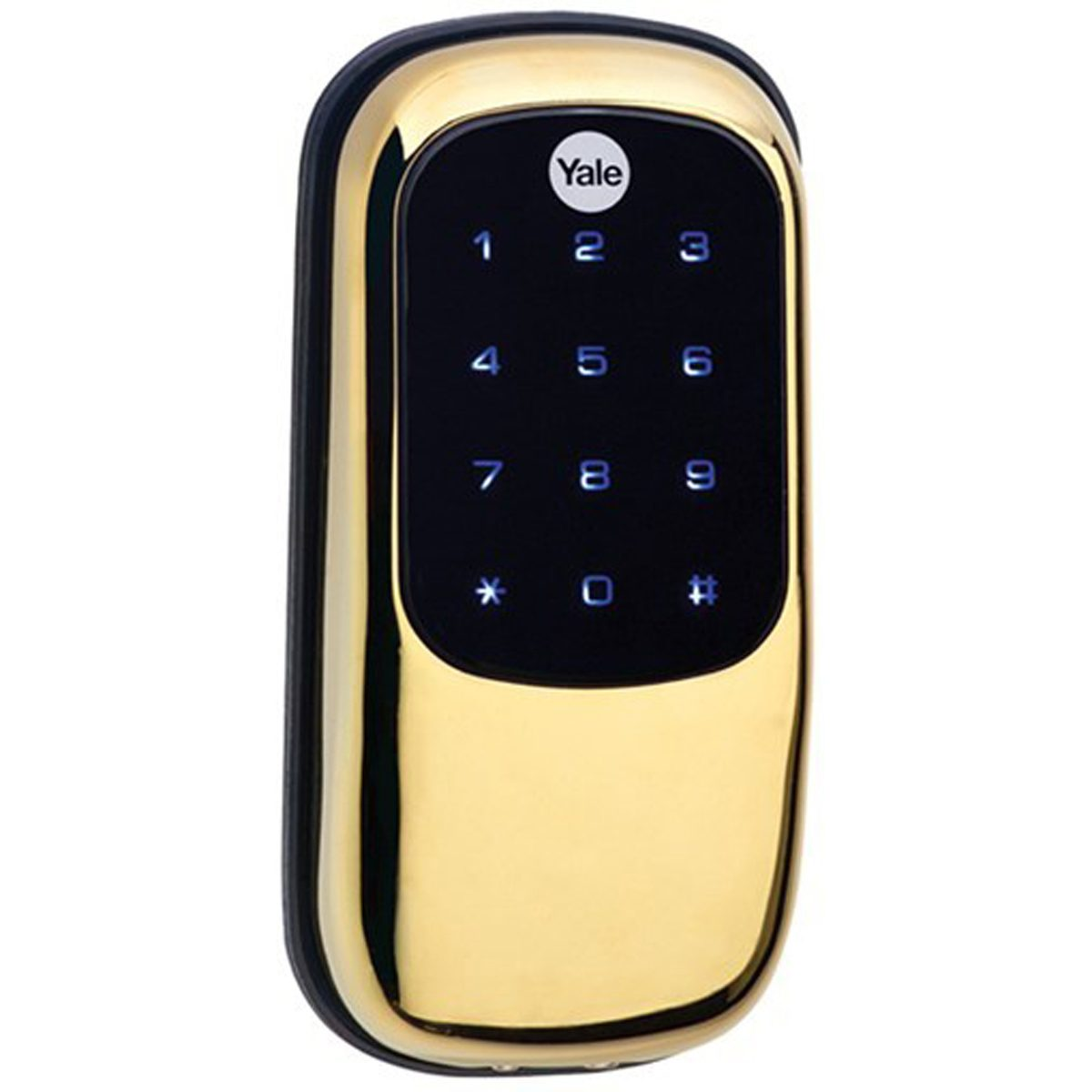 Yale Real Living Key Free Deadbolt Has a Futuristic Look