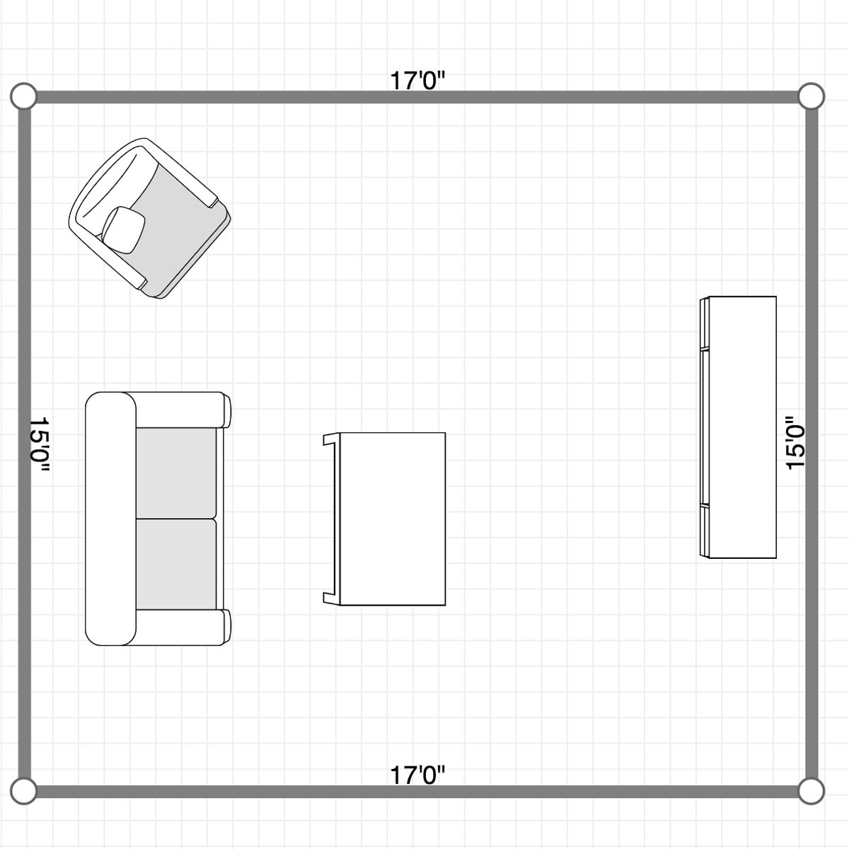 How to Downsize: Measure Furniture to see if it'll fit in new Place