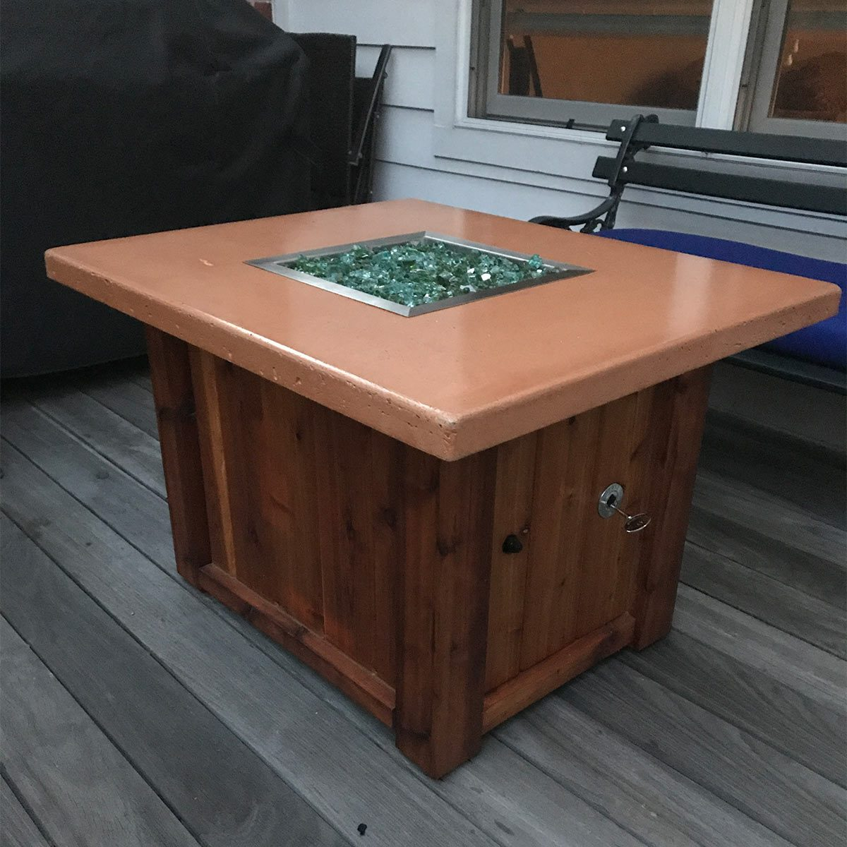 Fancy DIY Fire Table