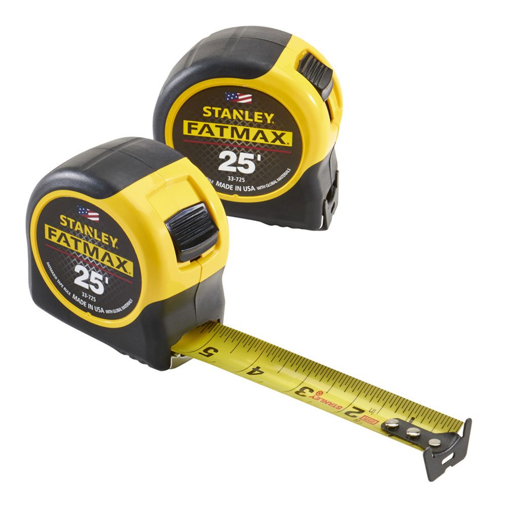 2-Pack of Our Favorite Tape Measure