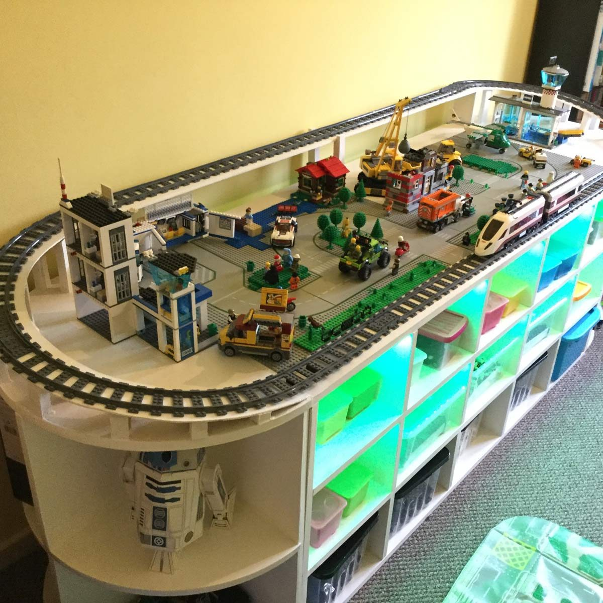 LEGO Woodworking Project Table