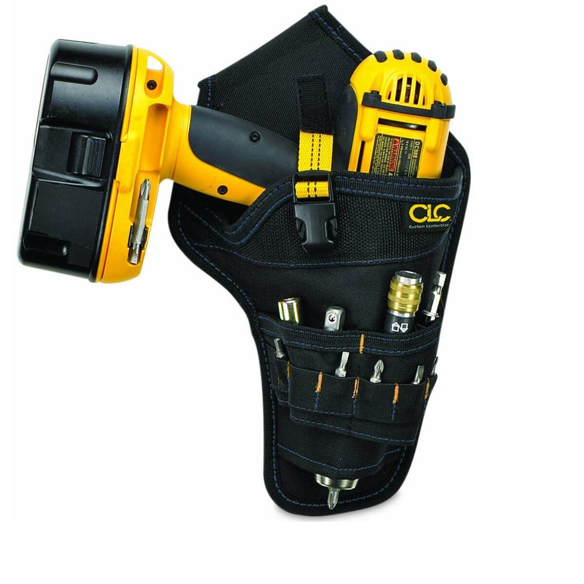 CLC Custom Leathercraft 5023 Deluxe Cordless Poly Drill Holster
