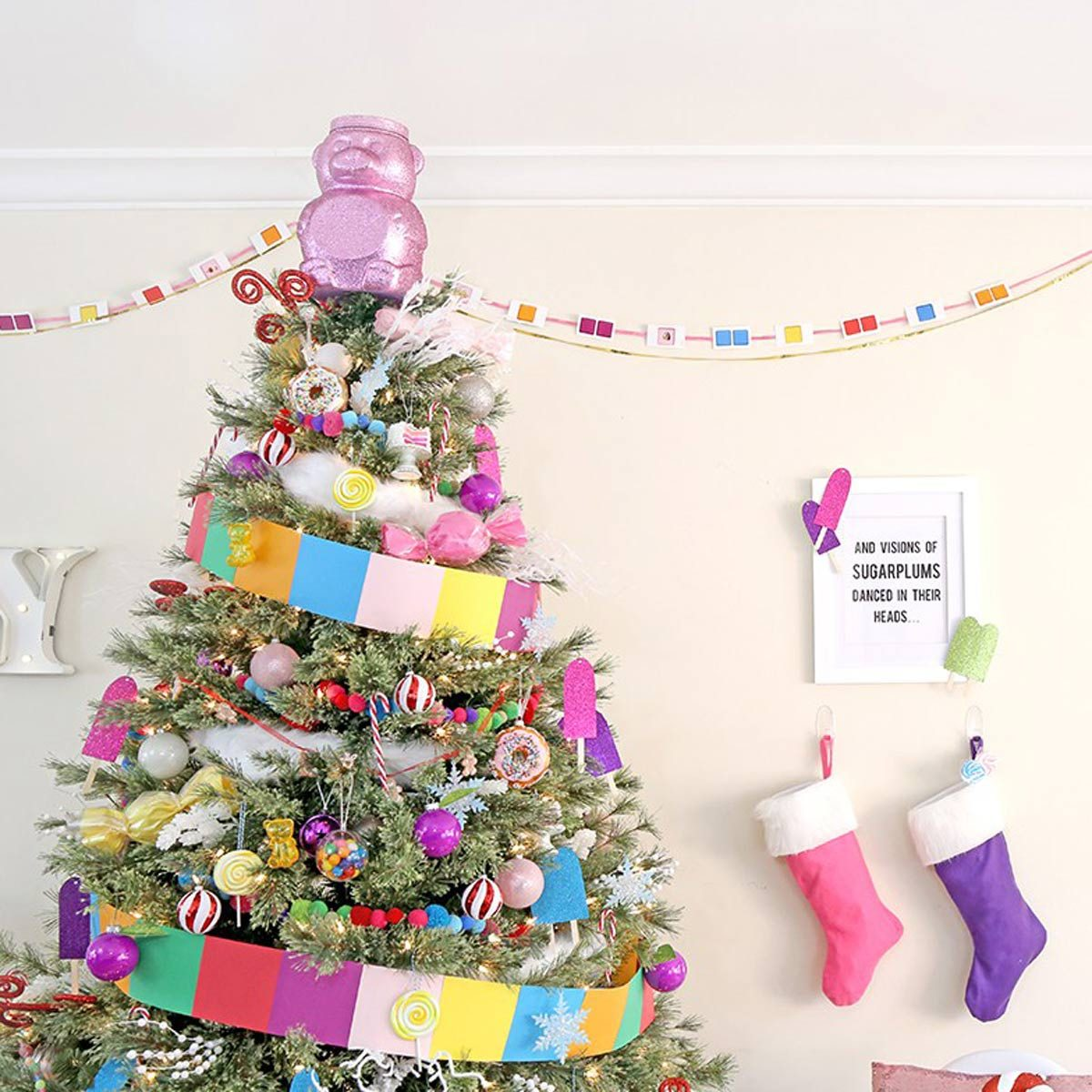 Christmas Tree Design Ideas: Sweet, Sweet Christmas